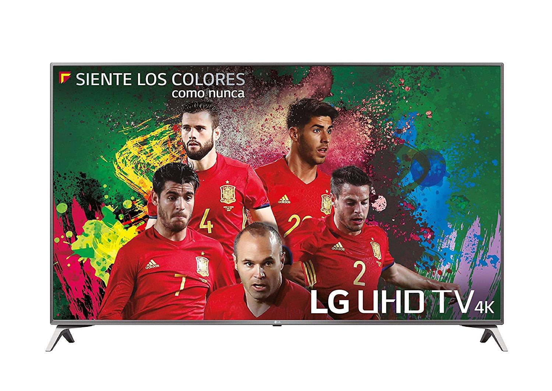 Disfruta del mundial de futbol 2018 con la Smart TV LG 4K de 49″ en oferta