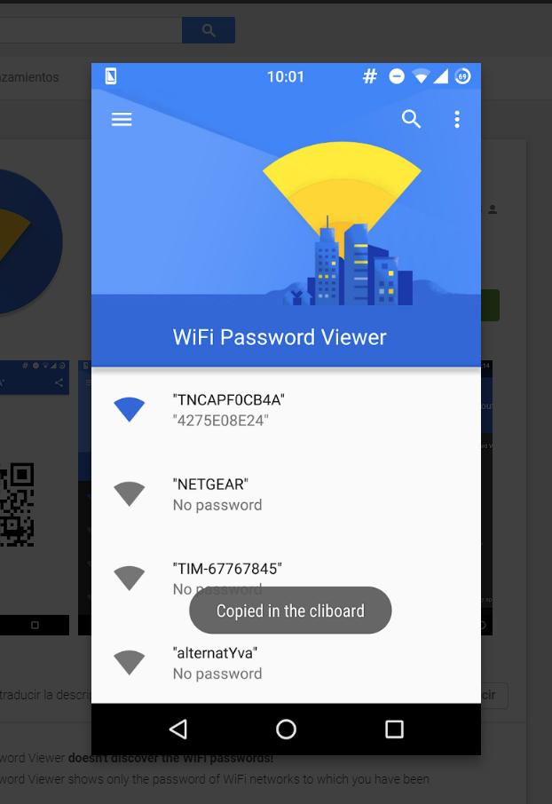 Como ver las contraseñas wifi guardadas en el movil Android sin Root y sin rootear el dispositivo