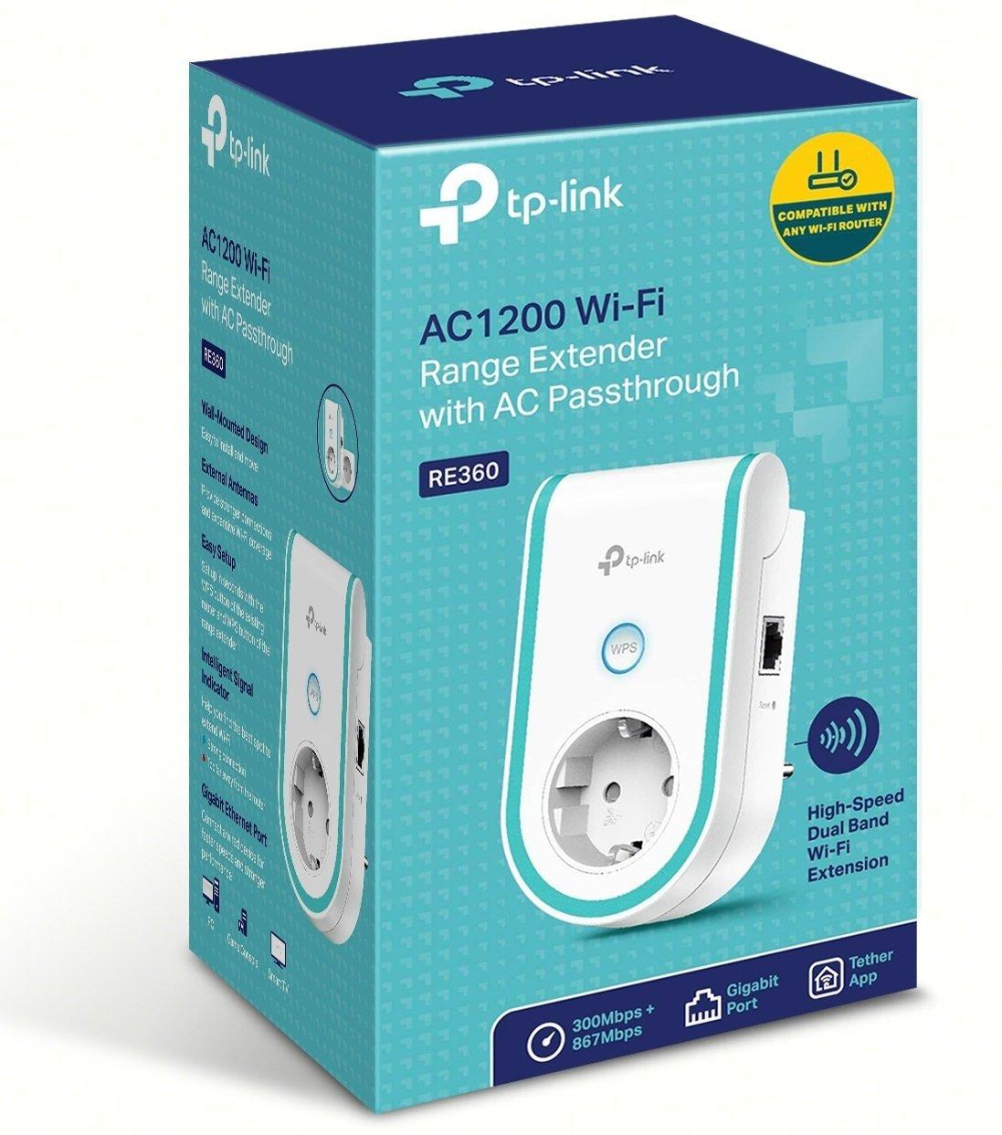 Mejor repetidor wifi 2018 para ampliar la cobertura en 50, 100, 200 y 300 metros cuadrados, TP-Link RE360, instalación, funcionamiento