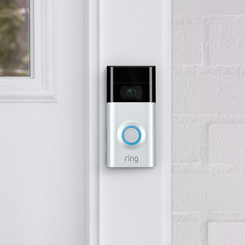 Videoportero Ring Doorbell 2 con detección de movimiento y conexión WiFi