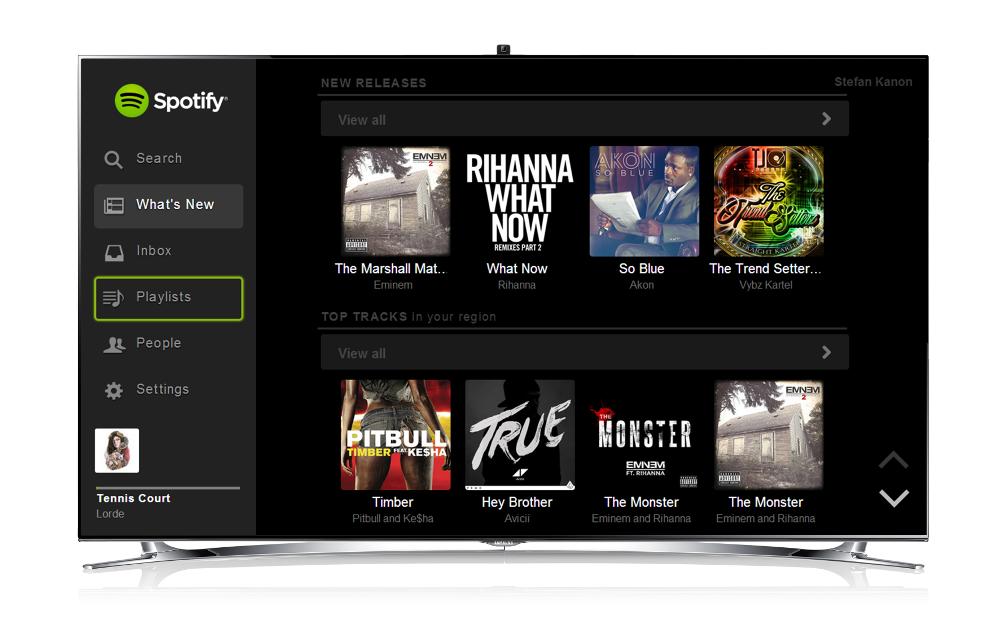 Como poner spotify en smart tv LG, Samsung, Sony, Philips, Hisense, Panasonic y cualquier tv