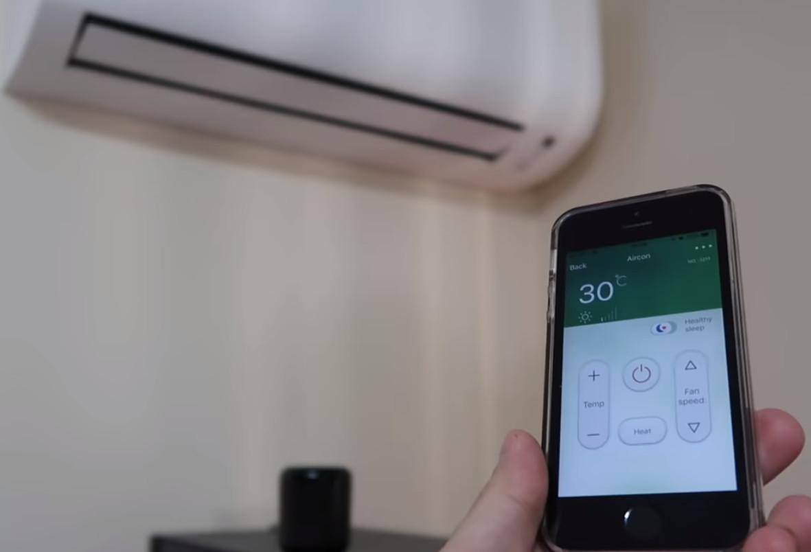 Como controlar cualquier aire acondicionado con el móvil, para Daikin, Fujitsu, Hisense, Samsung, Mitsubishi, LG