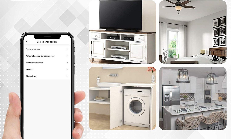 Omnialux, un enchufe inteligente WiFi con control de voz a través de Alexa y Google Home