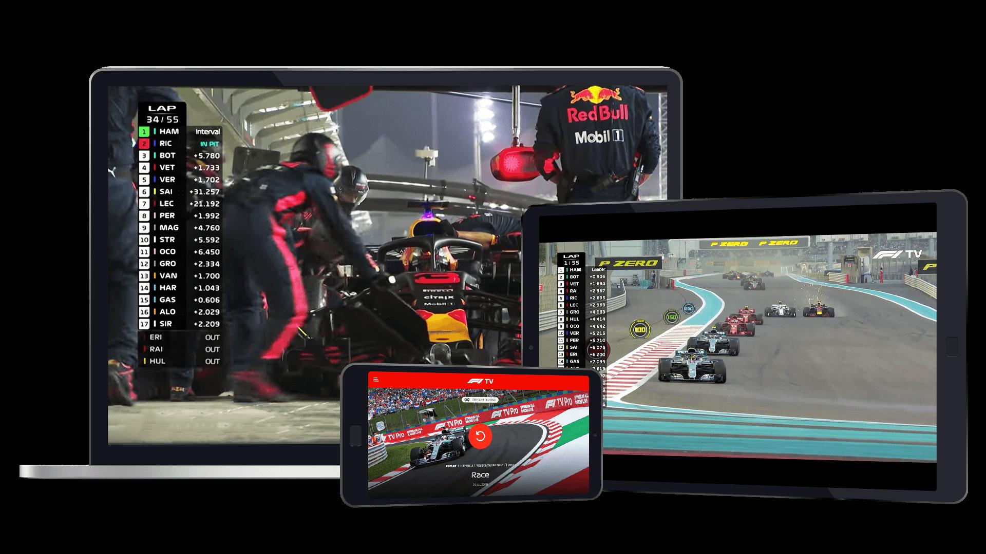Como ver la F1 2020 gratis y online desde España, servicios de streaming de f1 gratuitos