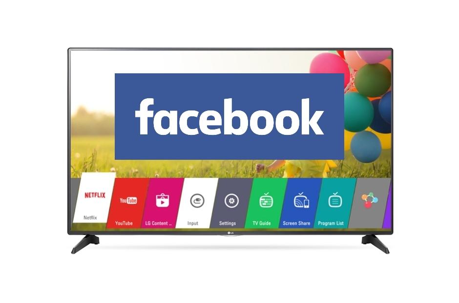 Instalar facebook watch en smart tv LG, Samsung, Sony, Philips, Hisense y otras tv, para ver vídeos en directo de facebook en la tv