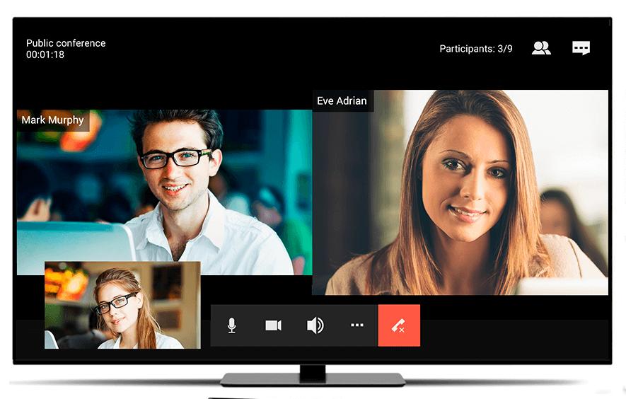 Webcam para smart tv de LG, Samsung, Sony, Philips, Hisense, Panasonic y cualquier tv, hacer videollamada desde la tv