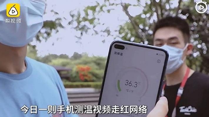 Honor Play 4 Pro termómetro digital