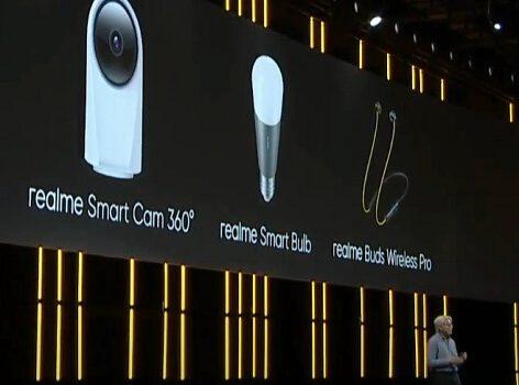 Realme Smart Cam 360 y Realme Smart Bulb