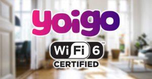 Yoigo router WiFi 6