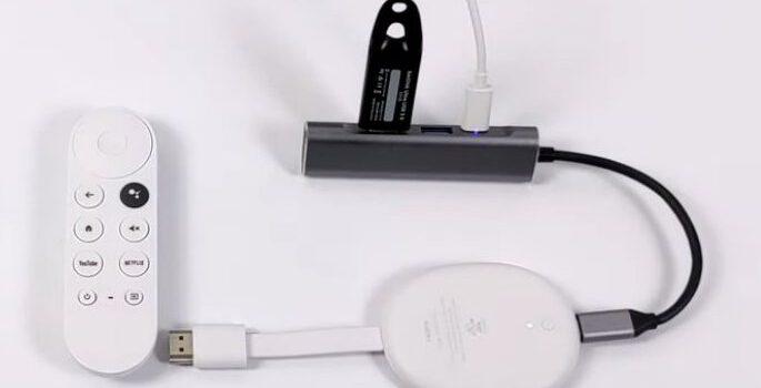 Como poner y ampliar más memoria al Chromecast con Google TV
