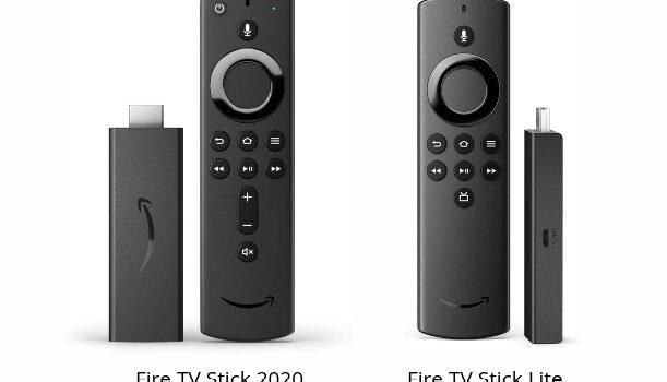 Fire TV Stick 2020 vs Fire TV Stick Lite comparativa, opiniones y diferencias en precio, funciones, resolución y aplicaciones