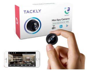 cámara espía oculta Tackly