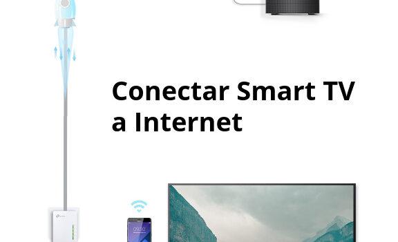 Como conectar la smart tv a internet por wifi o con cable de red, guía rápida y fácil