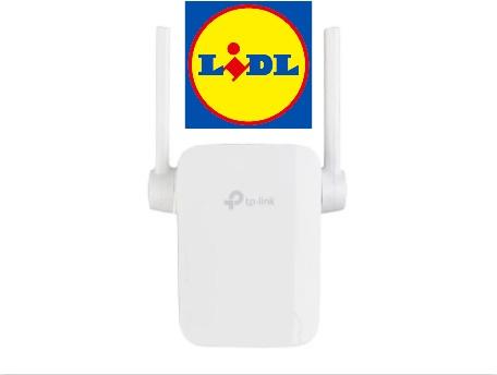 Amplificador wifi lidl opinión y precio, características, cobertura, alcance y potencia del modelo TP-Link del Lidl